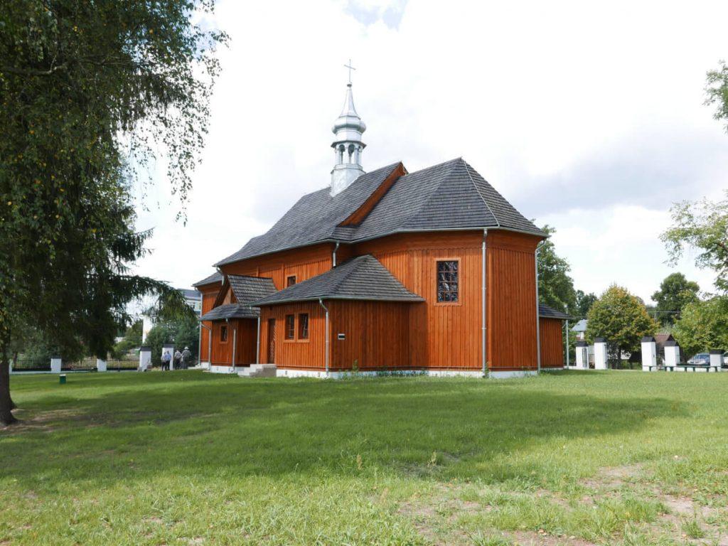 Łosiniec - kościół